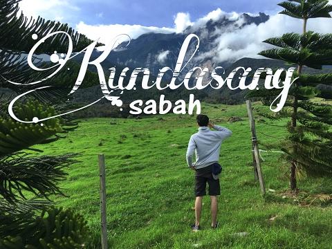 Travel alone - KUNDASANG, sabah , malaysia 2016 vlog