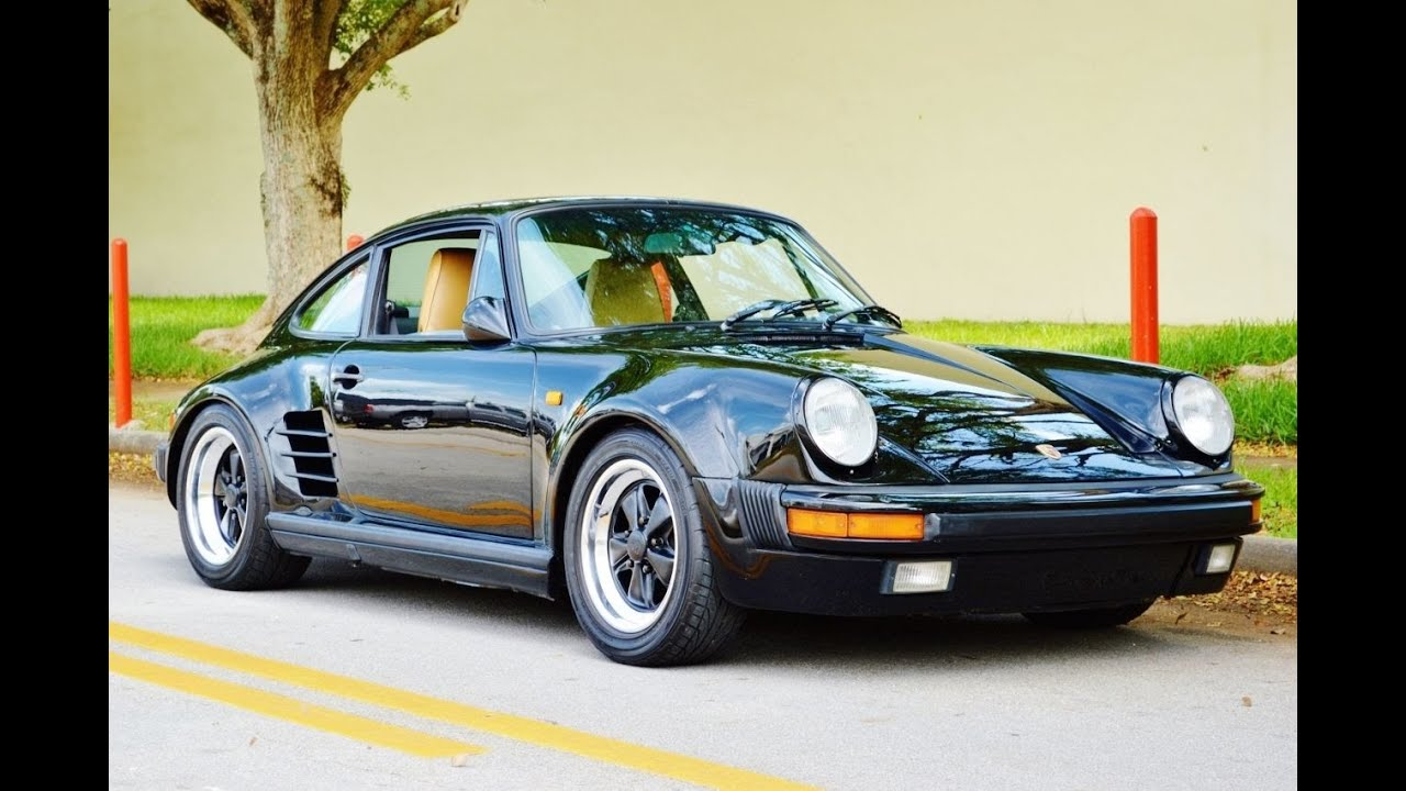 1985 Porsche 911 Turbo Look Factory Wide Body For Sale