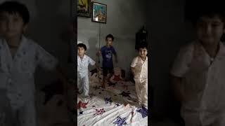Children dance on gangland