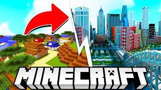 *NEW* MINECRAFT BUSINESS TYCOON! - MINECRAFT CUSTOM MAP! (BUILD YOUR OWN CITY!) #2