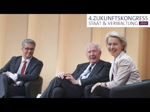 Keynote: Dr. Ursula von der Leyen, MdB – Zukunftskongress Staat & Verwaltung 2016