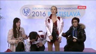 Фигурное катание. Чемпионат Европы 2016. Спортивные пары. Короткая программа (1-я и 2-я разминки)(29.01.2016, Словакия, Братислава (1-я и 2-я разминки), 2016-02-19T13:59:38.000Z)