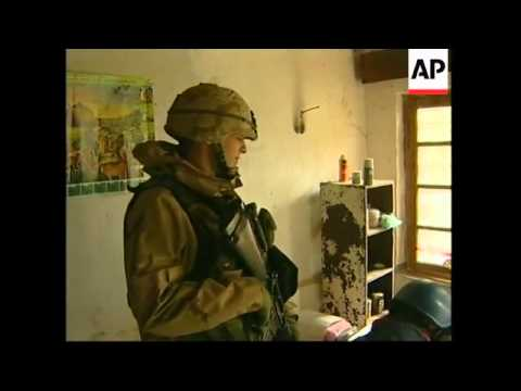 GNS WRAP Farmhouse where Saddam was found, US troops comments