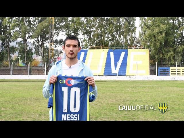 Juventud envía su camiseta Nro 10 a Lionel Messi