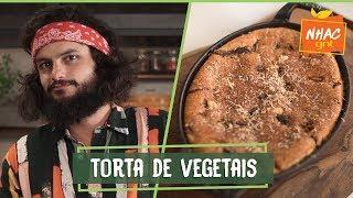 Torta De Vegetais Como Fazer Prato Salgado No Liquidificador  Mohamad Hindi  Deixa Eu Provar