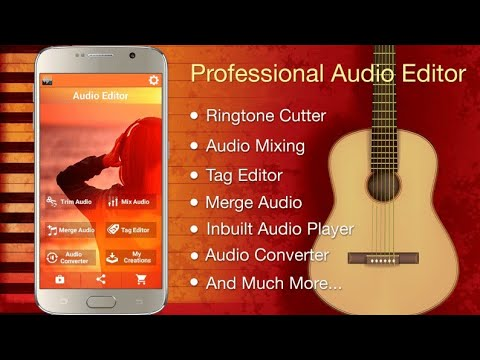 Audio Cutter'Mixer'Merger And Converter For Android | All In One Application