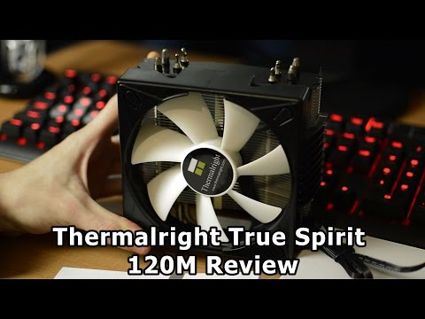 Thermalright True Spirit 120M BW CPU Cooler Review