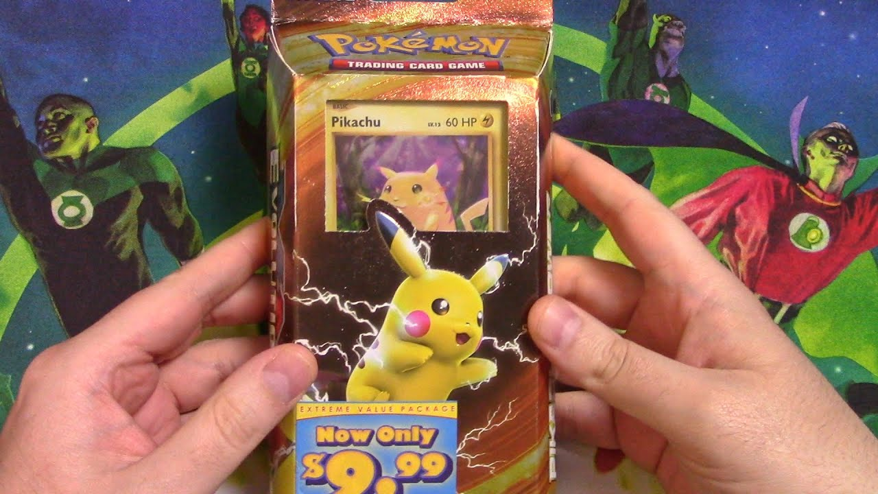 "Download Pokemon TCG - ""Fat Pikachu"" Theme Deck Opening"