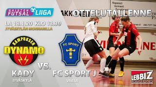 KaDy - FC Sport J 18.01.2020 OTTELUTALLENNE!