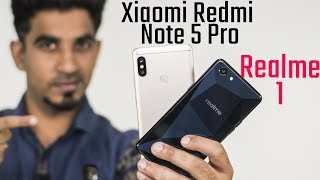 OPPO Realme 1 vs Xiaomi Redmi Note 5 Pro: Comparison overview [Hindi हिन्दी]