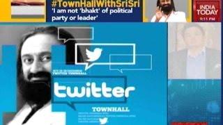 Twitter Townhall: Sri Sri Ravi Shankar Speaks Exclusively
