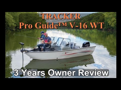 Tracker Pro Guide™ V-16 WT: Full Review After 3 Years