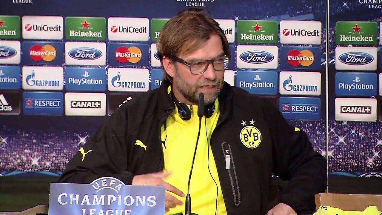 "Jürgen Klopp zu Robert-Lewandowski-Sperre: ""Vielen Dank nochmal!"" | Real Madrid - Borussia Dortmund"