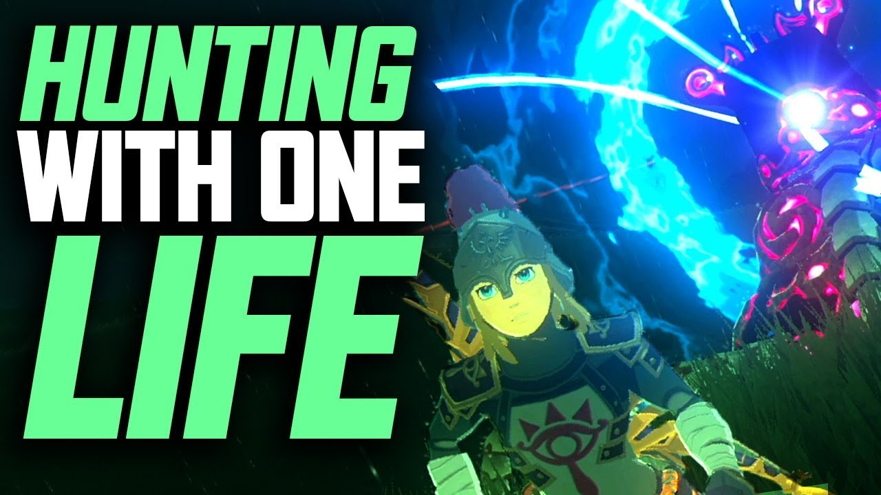 Hunting Guardians With One Life - Zelda Breath Of The Wild GraveHoppers Ep. 10