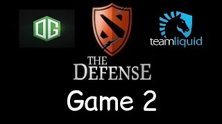 Liquid vs OG - Game 2 - The Defense Season 5 Final - Teamfights