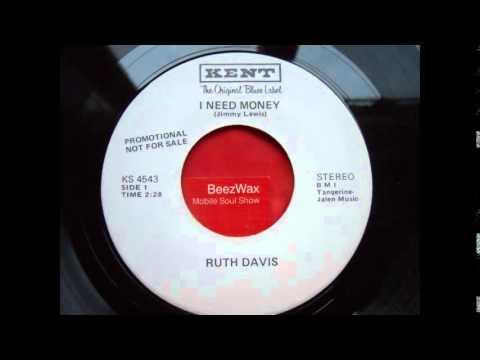 ruth davis - i need money