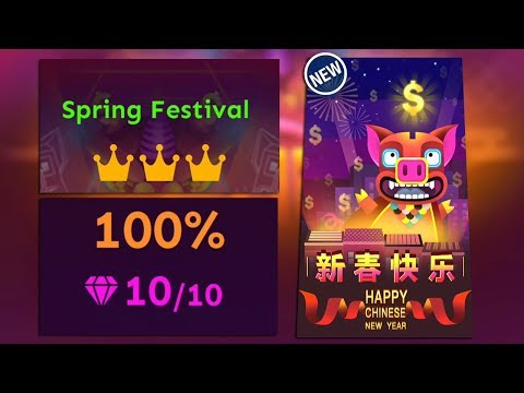 Rolling Sky Level 36 - Spring Festival