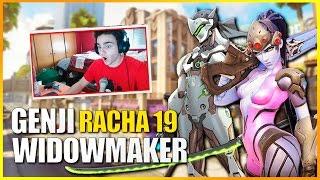 OVERWATCH: Rush con Genji y Racha 19 con Widowmaker | Makina