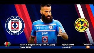 Cruz Azul (0:2) América | Resumen y Goles del Partido