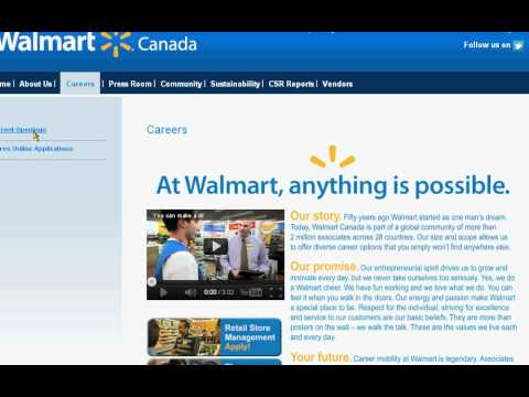 How To Apply To Walmart