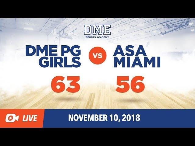DME PG Girls vs ASA Miami