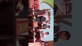 الكاتب اﻹماراتي أحمد إبراهيم يلقي كلمة ضيف شرف الحفل السنوي لمسلمي الهند في دبي يوم13يناير2017 3