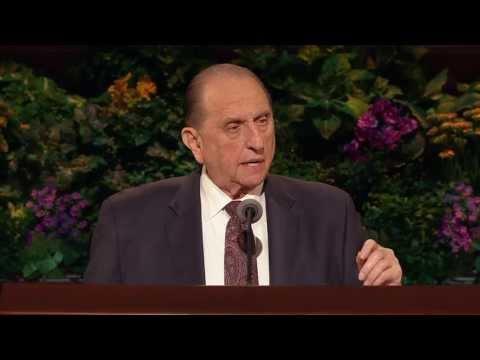Thomas S. Monson - İsa Mesih'in Son Zaman Azizler Kilisesi 2013 Nisan Genel Konferansı