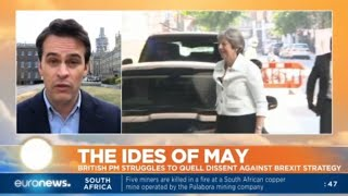 The Ides of May: British PM struggles to quell dissent against Brexit strategy