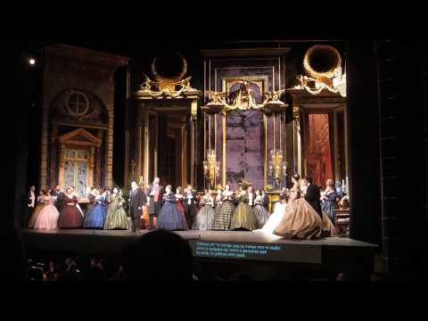La Traviata, Greek National Opera @ Megaron, Athens, GR, Nov. 30, 2016. Act I, a