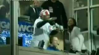 mr t sings take me out to the ball game at wrigley field