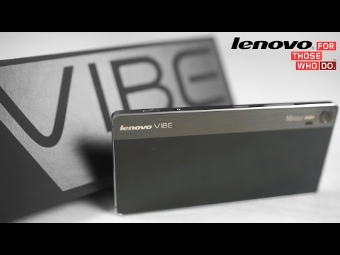 Lenovo Vibe Shot - Unboxing & Hands On (4K)
