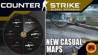 CSGO News   Is This The NEW Meta? New Casual Maps, CZ Nerf, Economy Change, and the AZIO Situation