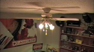 Throw Stuff Into The Ceiling Fan