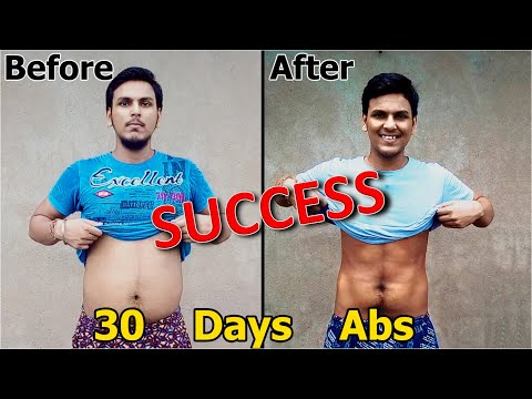 60 Pounds Overweight to six-Pack Abs Successful Story