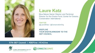 Laure Katz at GEF Live - Your digital window to the 57th Council