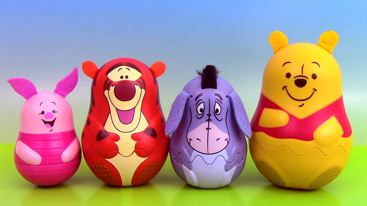 Winnie l 39 ourson poup es gigognes winnie the pooh stacking - Tete winnie l ourson ...