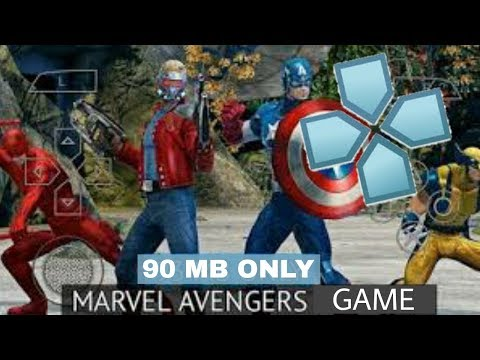 90 Mb Highly Compressed Marvel Avengers Game For Ppsspp On