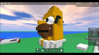 Homer Simpson In ROBLOX