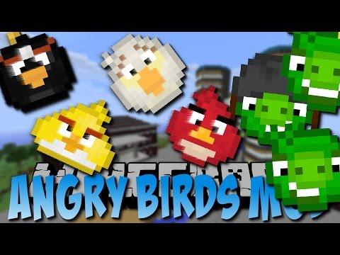 Minecraft ANGRY BIRDS MOD (Explosive Vögel) [Deutsch]
