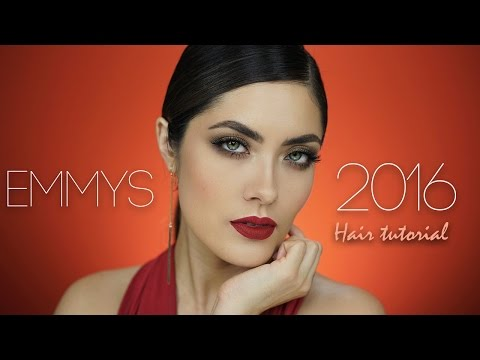 Priyanka Chopra Emmy's 2016 Hair Tutorial | Melissa Alatorre