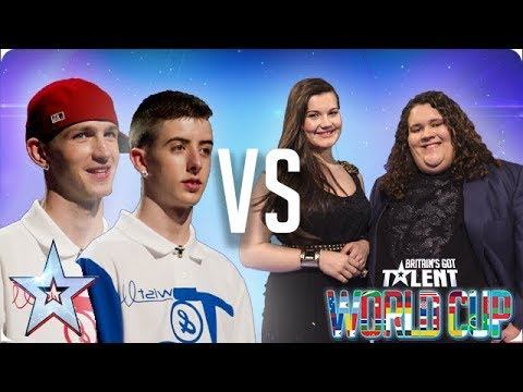 Twist & Pulse vs Jonathan & Charlotte | Britain's Got Talent World Cup 2018