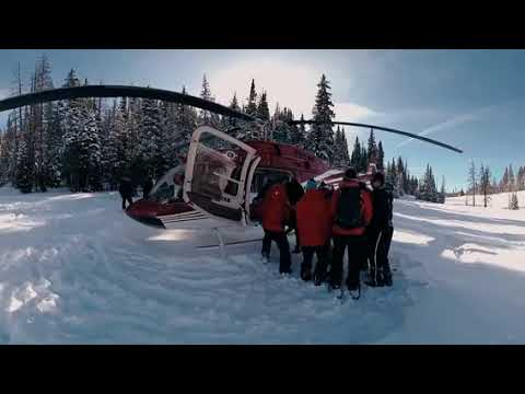 Search and rescue in the Rocky Mountains – 360 Video