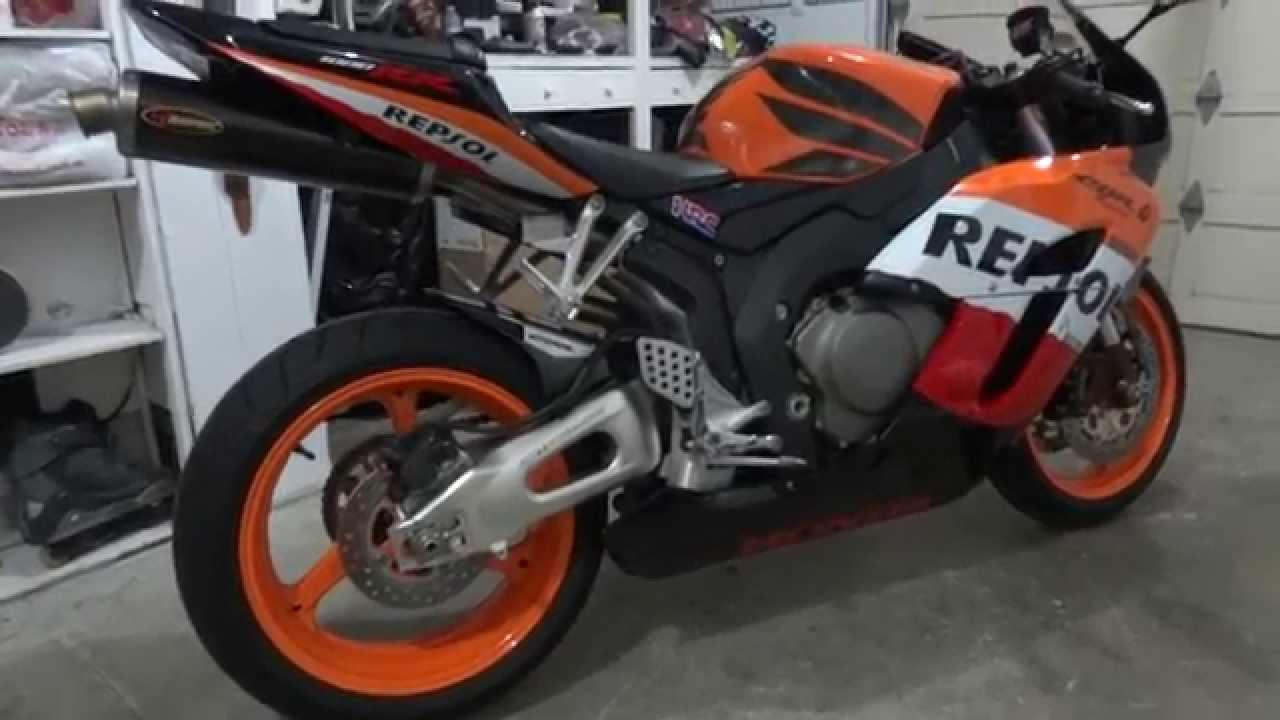 2005 Honda CBR1000RR Repsol Edition - YouTube