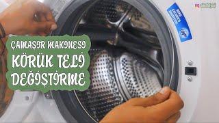 Çamaşır Makinesi Körük Lastiği Teli Nasıl Değiştirilir - Çamaşır Makinesi Su Kaçırma Nedenleri