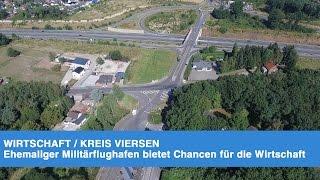 Kreis Viersen: Militärflugplatz wird zu Gewerbefläche