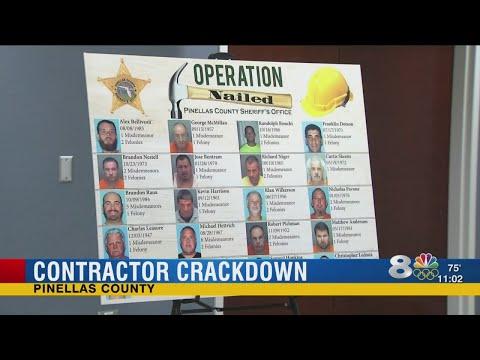 Contractor crackdown in Pinellas County