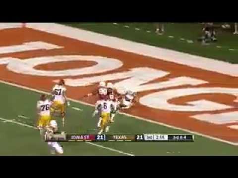 Texas Edges Iowa State 48-45