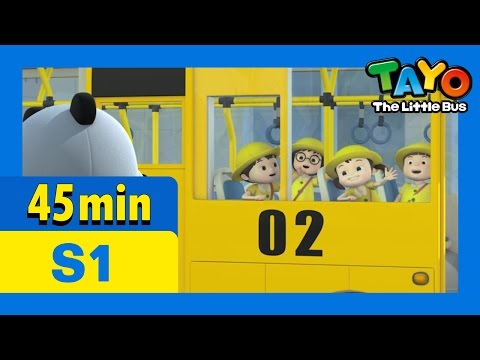 Tayo S1 Full Episodes S1 E23-E26 (8/8) l Lani's day off l Gani is sick l Tayo is the best