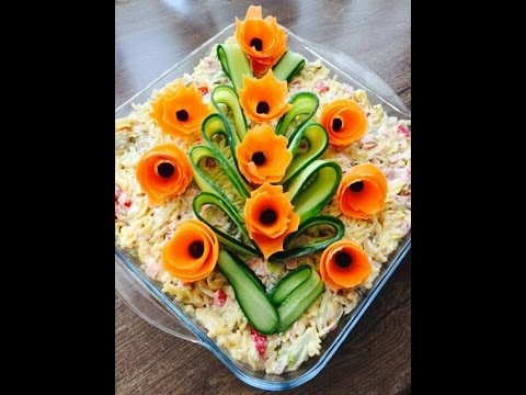 Incredible Salad Decoration Ideas Incredible Salad Decoration