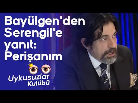 Okan Bayülgen'den Seren Serengil'e yanıt: Perişanım (Uykusuzlar Kulübü)